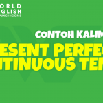 15 Contoh Kalimat Present Perfect Continuous Tense Bentuk Lengkap Beserta Arti