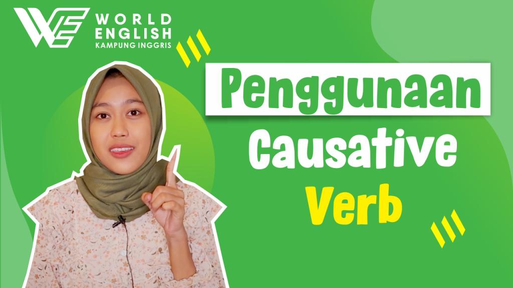 contoh kalimat causative verb