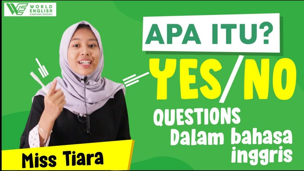 contoh yes no question