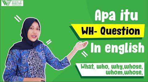 contoh kalimat WH Question