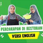 Contoh Percakapan Bahasa Inggris di Restoran Lengkap Beserta Video dan Terjemahan!