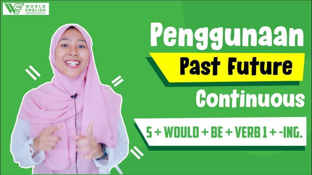 contoh kalimat past future continuous