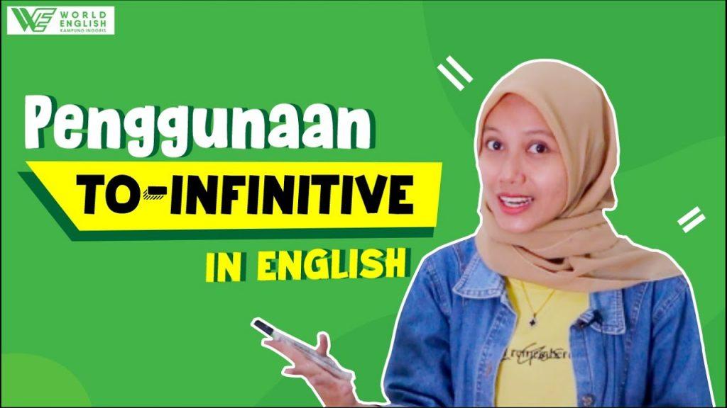 fungsi dan penggunaan infinitive